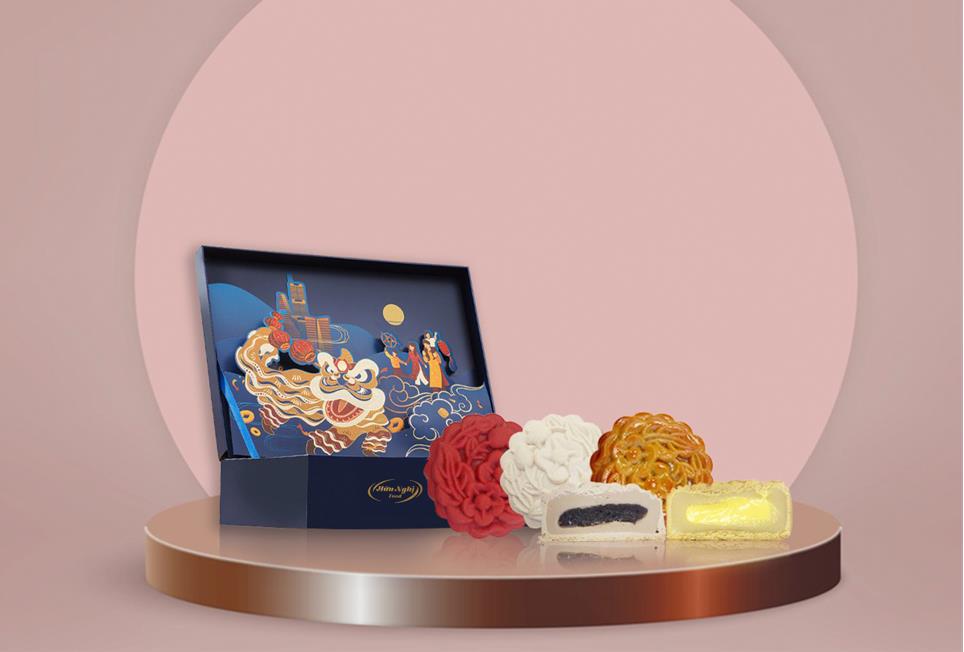 Khám phá bánh Trung thu tan chảy hot trend - ảnh 1