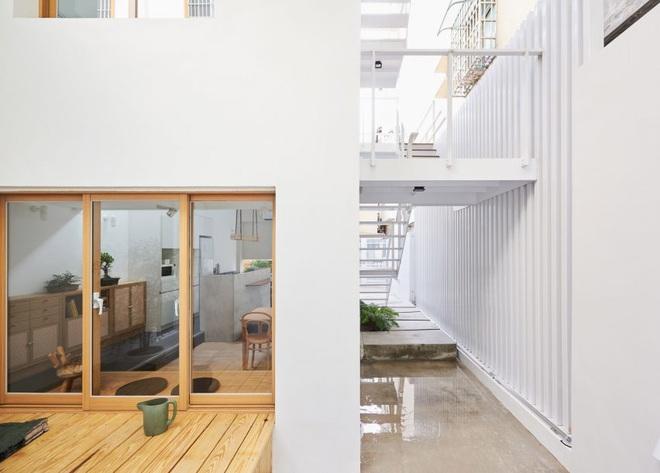 Nội thất đẹp của căn nhà 36 m2 bên ngoài hoài cổ, bên trong hiện đại - ảnh 5
