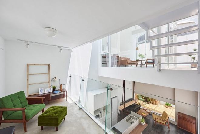 Nội thất đẹp của căn nhà 36 m2 bên ngoài hoài cổ, bên trong hiện đại - ảnh 4