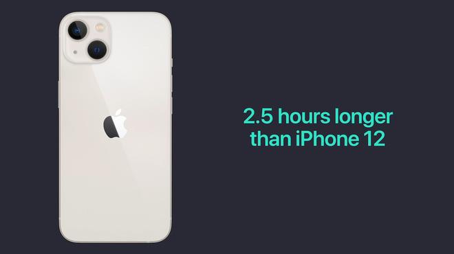 iPhone 13 và iPhone 13 mini chính thức: ''Tai thỏ'' gọn hơn, camera có chống rung cảm biến, Apple A15, giá từ 699 USD - ảnh 13