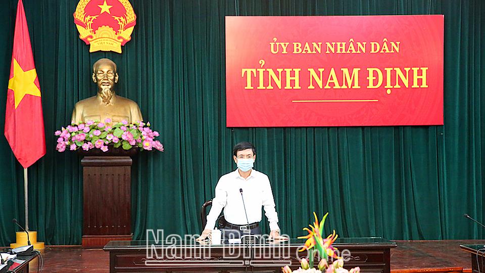 NAM ĐỊNH: Dỡ bỏ giãn cách huyện Hải Hậu; quyết tâm giữ vững thành quả chống dịch - ảnh 2