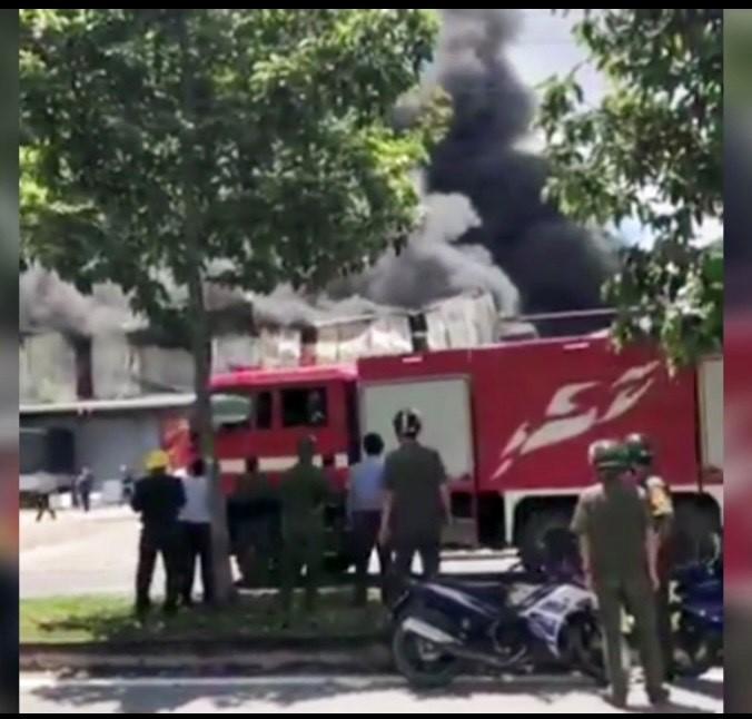 Đang cháy lớn trong khu công nghiệp ở Bình Dương - ảnh 4