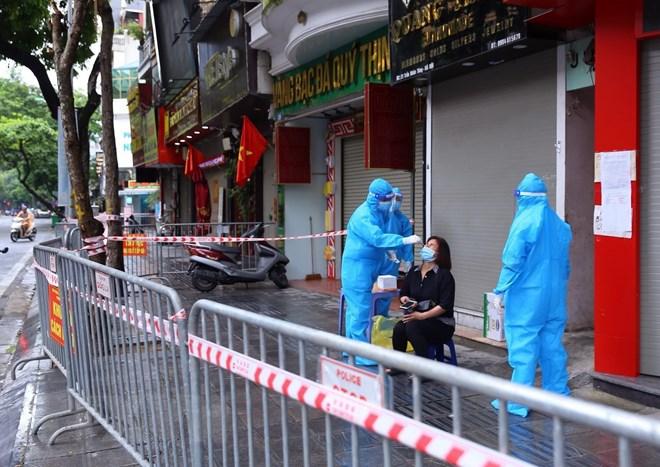 Hà Nội: Chưa xác định được nguồn lây của ca F0 ở phố Trần Nhân Tông - ảnh 6