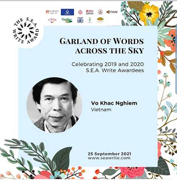 Hai tác giả Việt Nam đoạt Giải thưởng Văn học ASEAN - ảnh 2