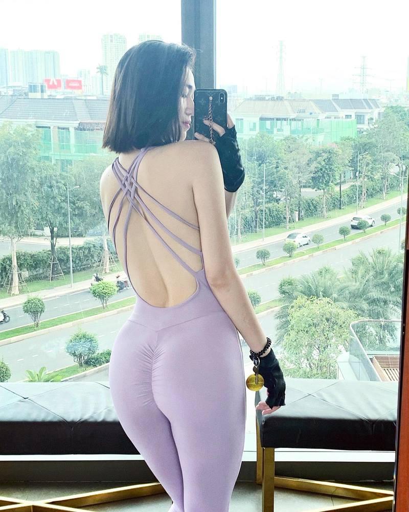 Người đẹp Việt ham diện quần tập có thiết kế lạ mắt - ảnh 5