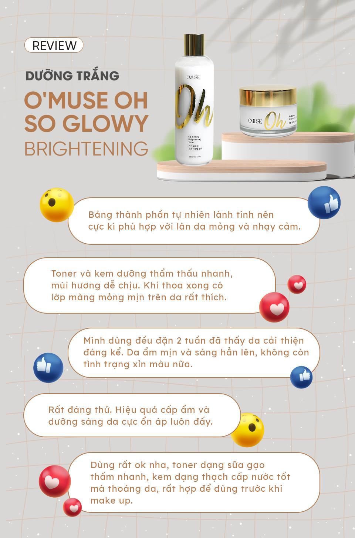 O''Muse Oh So Glowy: Bộ đôi dưỡng trắng khiến Nhung Gumiho và các hot TikToker mê mẩn - ảnh 5