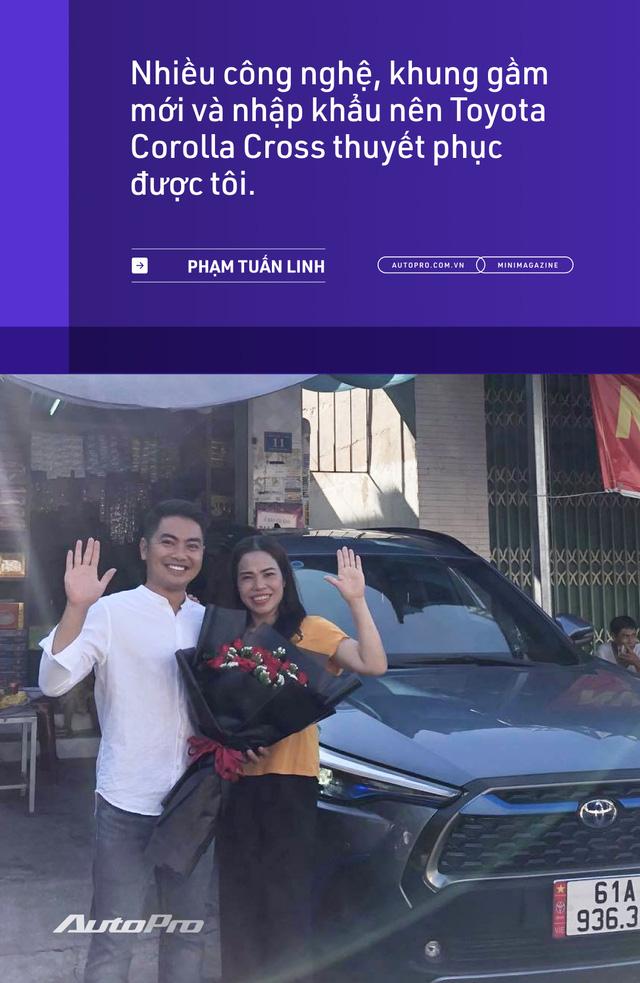 Những kiểu khách chốt đơn Toyota Corolla Cross sau 1 năm bán tại Việt Nam: Người bỏ Mercedes, người mua chỉ vì thương hiệu - ảnh 9