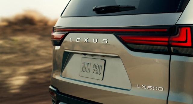 Lexus LX600 chính thức lộ diện: Thay thế LX570, như Land Cruiser hạng sang, ra mắt tuần sau - ảnh 1