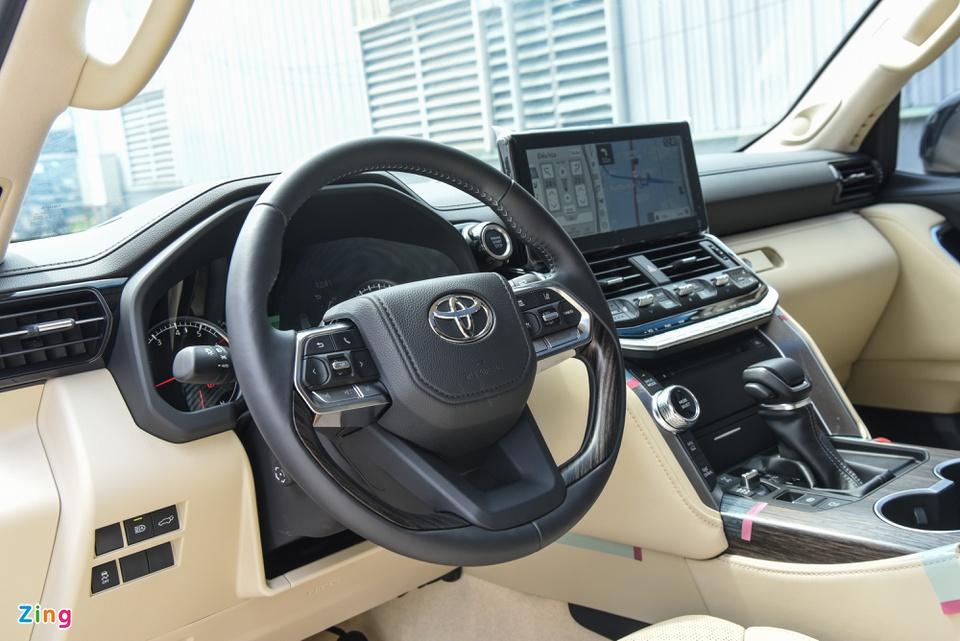 Chi tiết Toyota Land Cruiser 2022 tại Việt Nam - ảnh 11