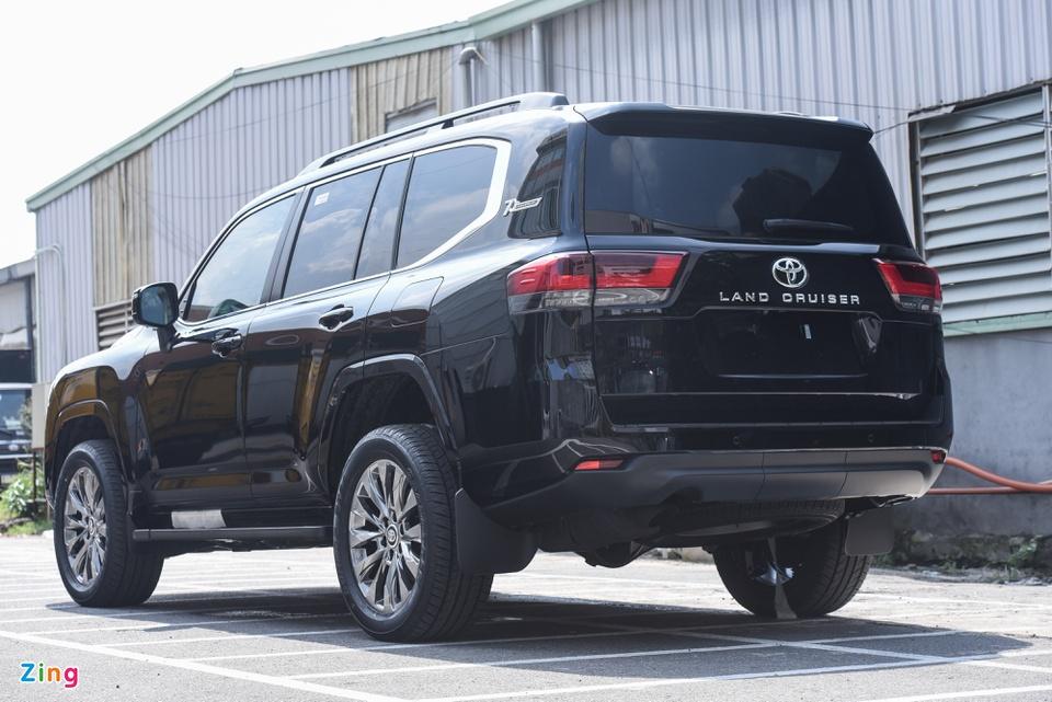 Chi tiết Toyota Land Cruiser 2022 tại Việt Nam - ảnh 3