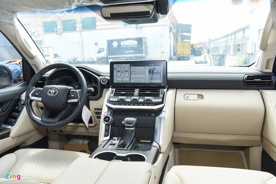 Chi tiết Toyota Land Cruiser 2022 tại Việt Nam - ảnh 10