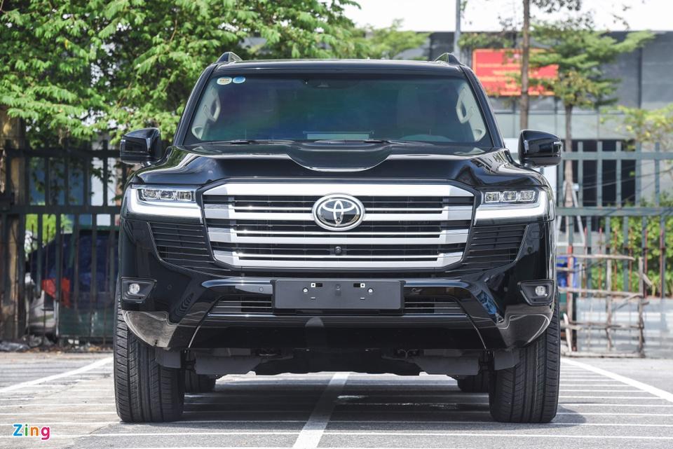 Chi tiết Toyota Land Cruiser 2022 tại Việt Nam - ảnh 4