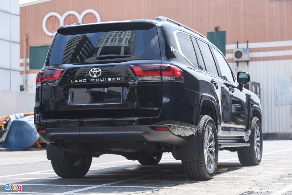 Chi tiết Toyota Land Cruiser 2022 tại Việt Nam - ảnh 6
