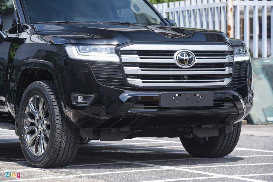 Chi tiết Toyota Land Cruiser 2022 tại Việt Nam - ảnh 7