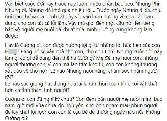 Hồ Văn Cường liên tục bị dằn mặt, em trai Phi Nhung nói gì? - ảnh 7