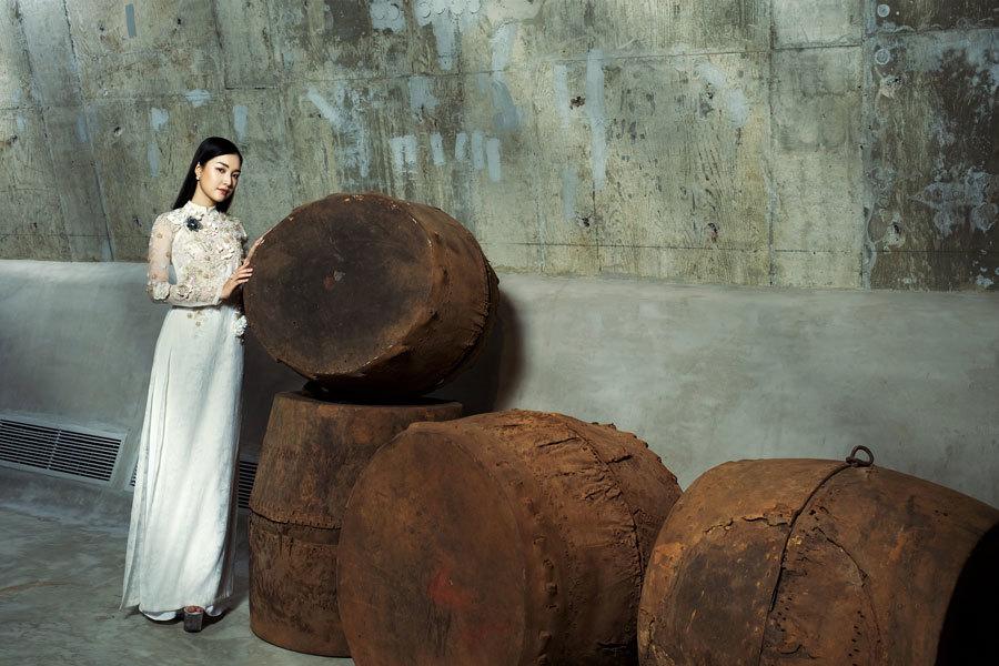 Á hậu Hoàng My, Ngọc Trân đẹp tựa đóa quỳnh nở muộn - ảnh 3