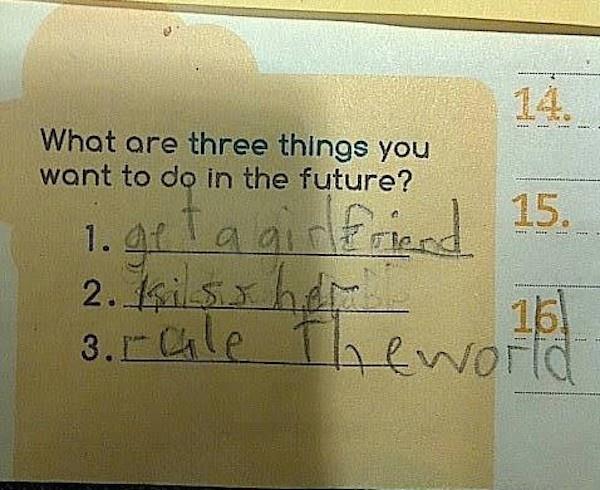 Cha mẹ bó tay trước các ước mơ kiểu 'IQ vô cực' của lũ trẻ - ảnh 3