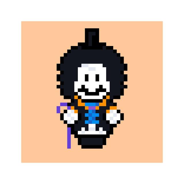 Ngỡ ngàng khi thấy loạt nhân vật One Piece và anime được vẽ lại theo phong cách pixel art - ảnh 14