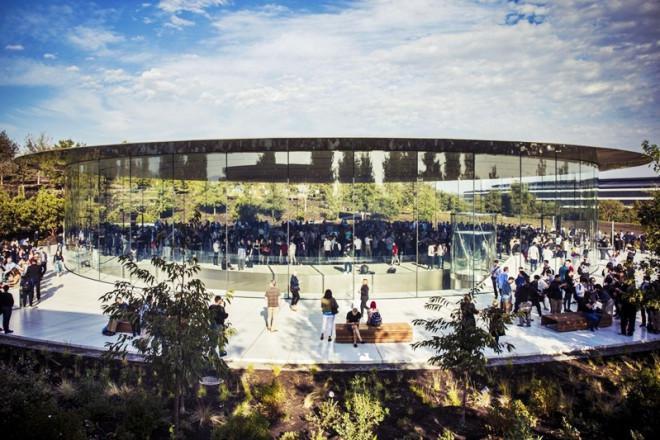 Khám phá trụ sở phi thuyền như phim viễn tưởng, giá tỷ USD của Apple - ảnh 5