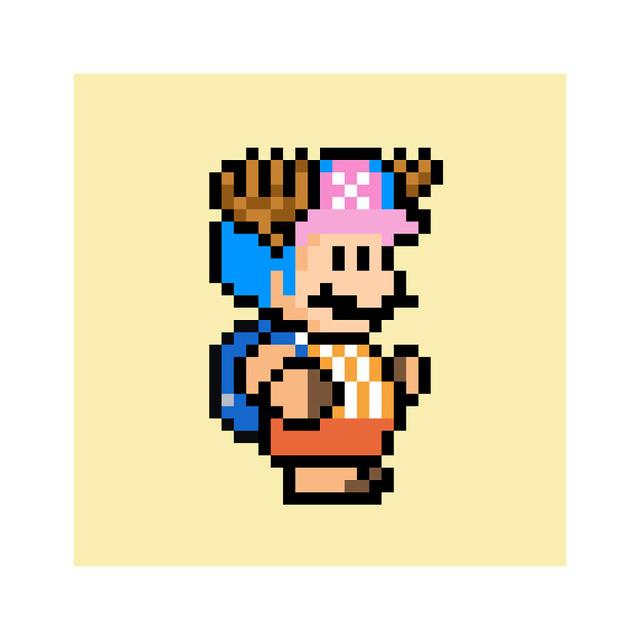 Ngỡ ngàng khi thấy loạt nhân vật One Piece và anime được vẽ lại theo phong cách pixel art - ảnh 15