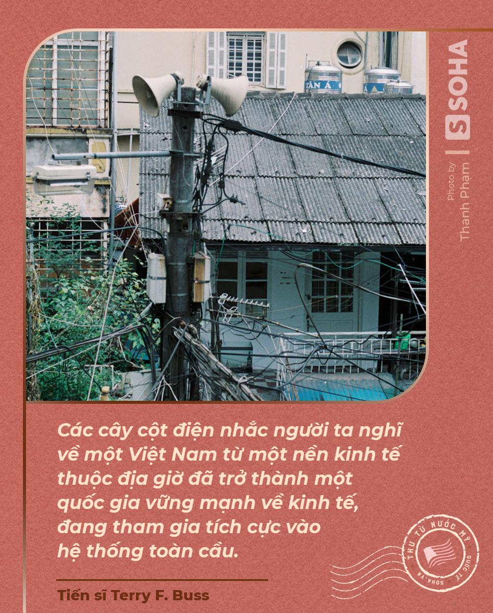 Thư từ nước Mỹ: Cột điện Hà Nội và chuyện phố cổ trong mắt một người Mỹ - ảnh 2