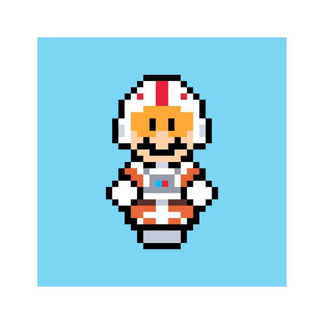 Ngỡ ngàng khi thấy loạt nhân vật One Piece và anime được vẽ lại theo phong cách pixel art - ảnh 5