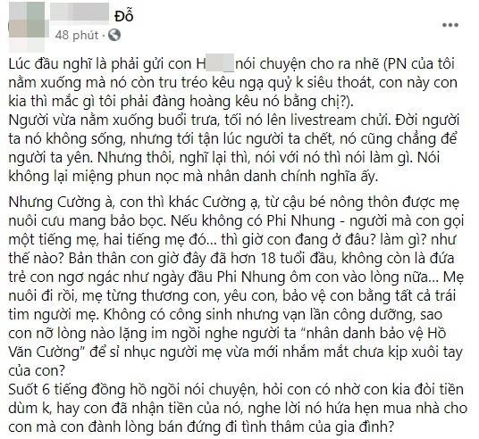 Hồ Văn Cường liên tục bị dằn mặt, em trai Phi Nhung nói gì? - ảnh 6