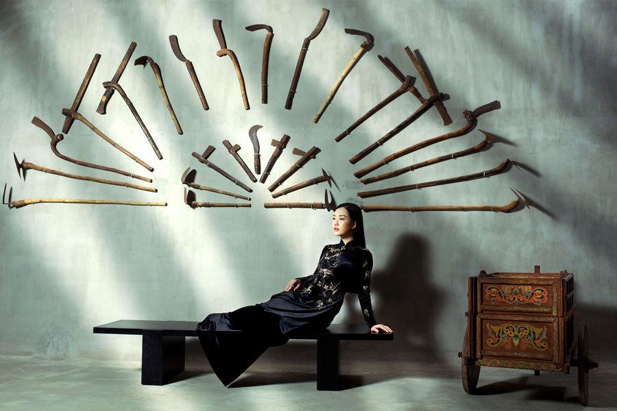 Á hậu Hoàng My, Ngọc Trân đẹp tựa đóa quỳnh nở muộn - ảnh 7