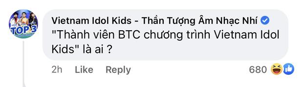 Fanpage chính thức của Vietnam Idol Kids có phát ngôn khó hiểu, hỏi ngược thành viên BTC bênh vực Hồ Văn Cường là ai? - ảnh 3