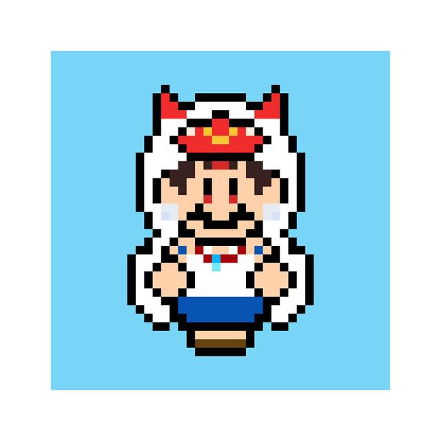 Ngỡ ngàng khi thấy loạt nhân vật One Piece và anime được vẽ lại theo phong cách pixel art - ảnh 13