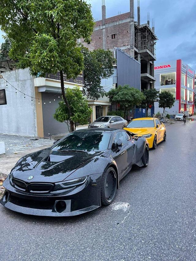 Dân chơi Thái Nguyên tậu BMW i8 độ thân rộng siêu độc lạ tại Việt Nam - ảnh 2