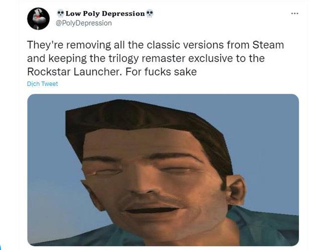 Bộ 3 game GTA Remastered sẽ không phát hành trên Steam - ảnh 3