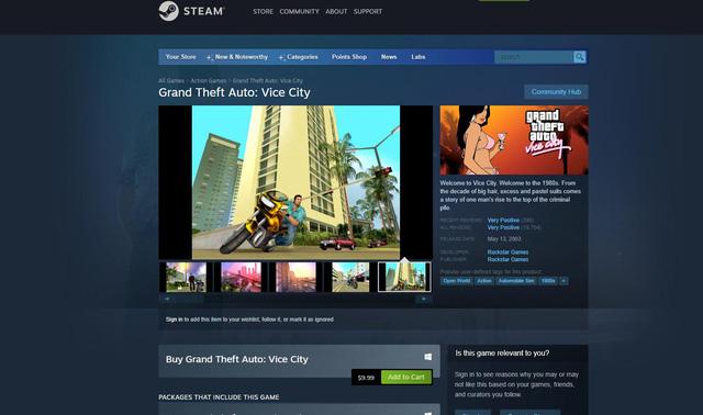 Bộ 3 game GTA Remastered sẽ không phát hành trên Steam - ảnh 2