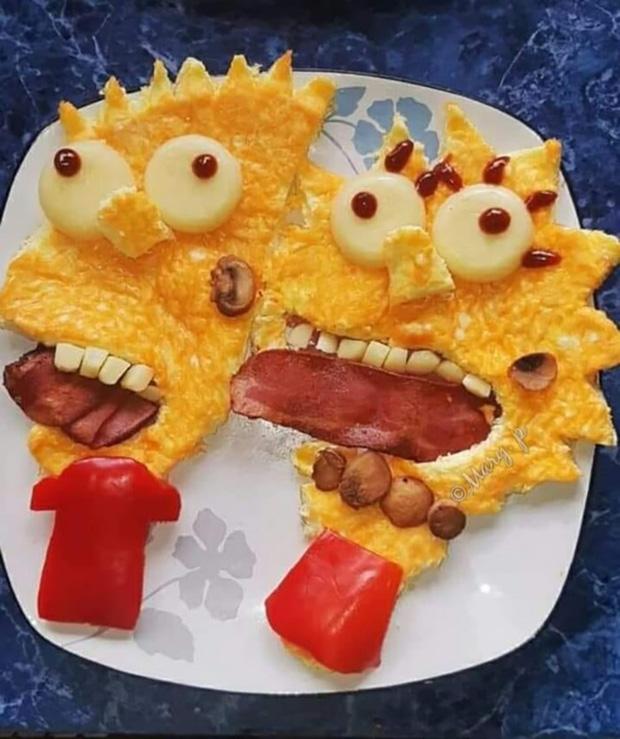 Những màn trình bày đồ ăn quái đản làm ai xem cũng cụt hứng ăn uống - ảnh 14