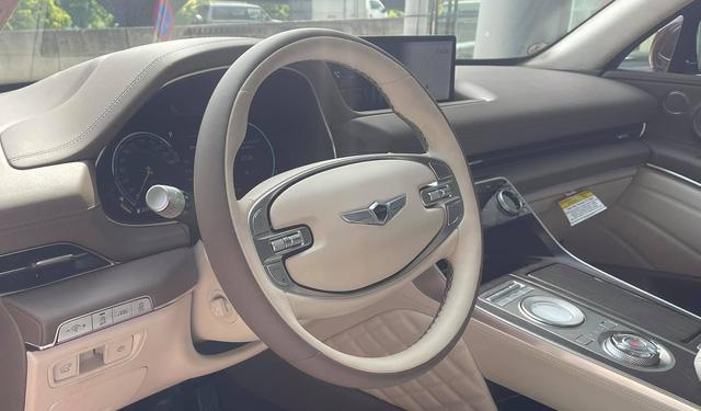 Genesis GV80 vừa về nước mang nhiều trang bị khủng nhất Việt Nam, giá sẽ rất đắt, cạnh tranh BMW X5 và Mercedes-Benz GLE - ảnh 6