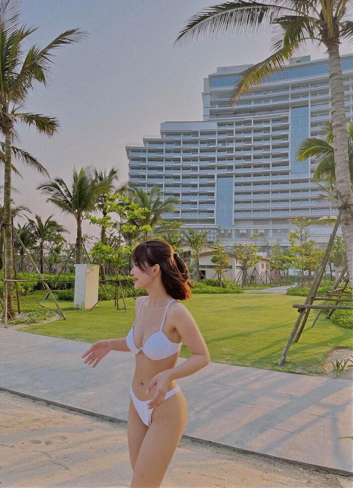 Từ ngọt ngào, cựu hot girl Hà thành bất ngờ gợi cảm bỏng mắt - ảnh 26