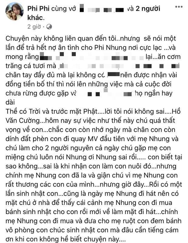 Hồ Văn Cường liên tục bị dằn mặt, em trai Phi Nhung nói gì? - ảnh 9