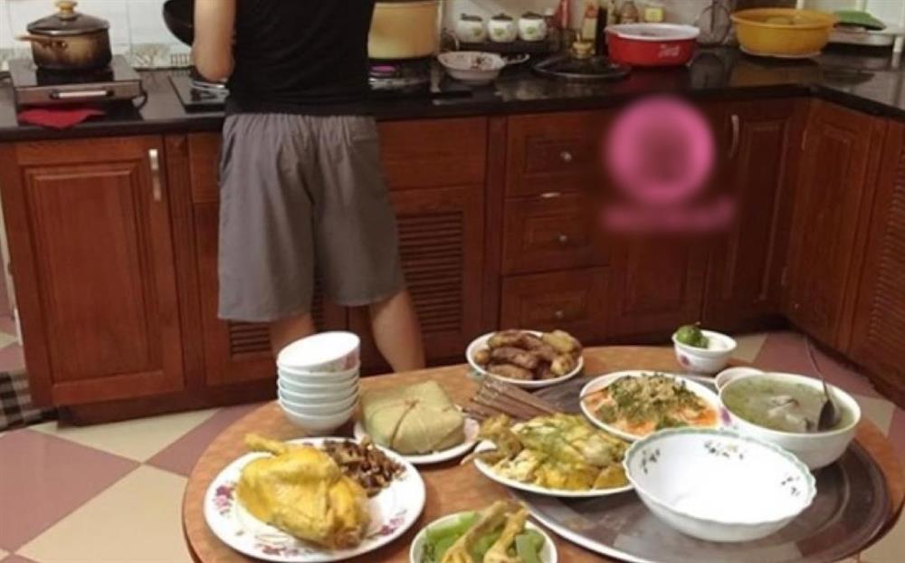 Sợ con dâu vất vả, mẹ chồng 'hạ lệnh' chỉ ăn cơm con trai nấu - ảnh 2