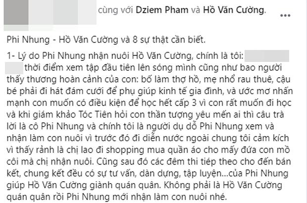 Người kết nối Phi Nhung với Hồ Văn Cường năm xưa hối tiếc vì đã khuyên nữ ca sĩ nhận nuôi Quán quân Vietnam Idol Kids - ảnh 4