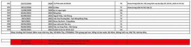 Xôn xao danh sách 310 đêm diễn và sự kiện của Hồ Văn Cường 5 năm qua, có show hát về mệt quá nên hôm sau phải bỏ thi trên trường? - ảnh 7
