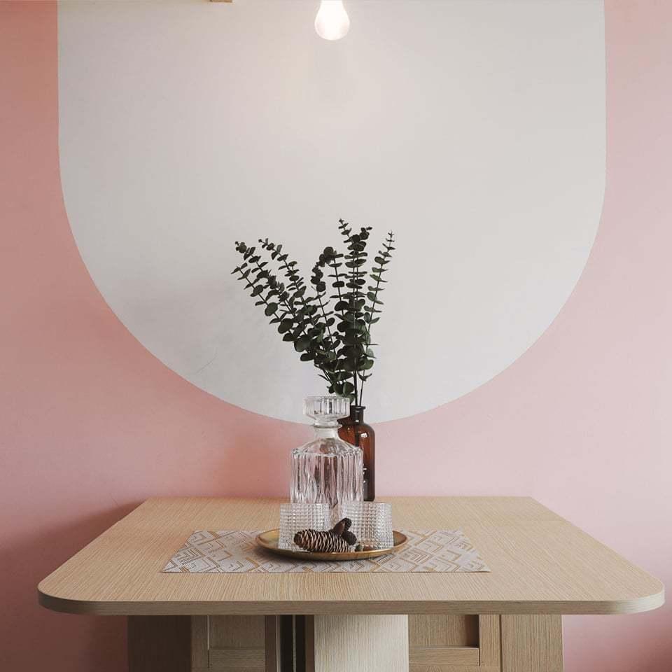 Căn hộ 58m2 phủ màu hồng ngọt ngào, góc nào cũng siêu yêu - ảnh 5
