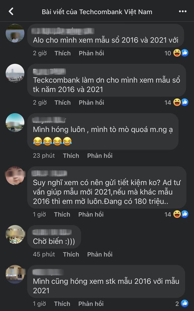 Cộng đồng mạng ồ ạt vào fanpage Techcombank, yêu cầu làm rõ điều này sau khi mẹ Hồ Văn Cường đăng hình ảnh sổ tiết kiệm - ảnh 4