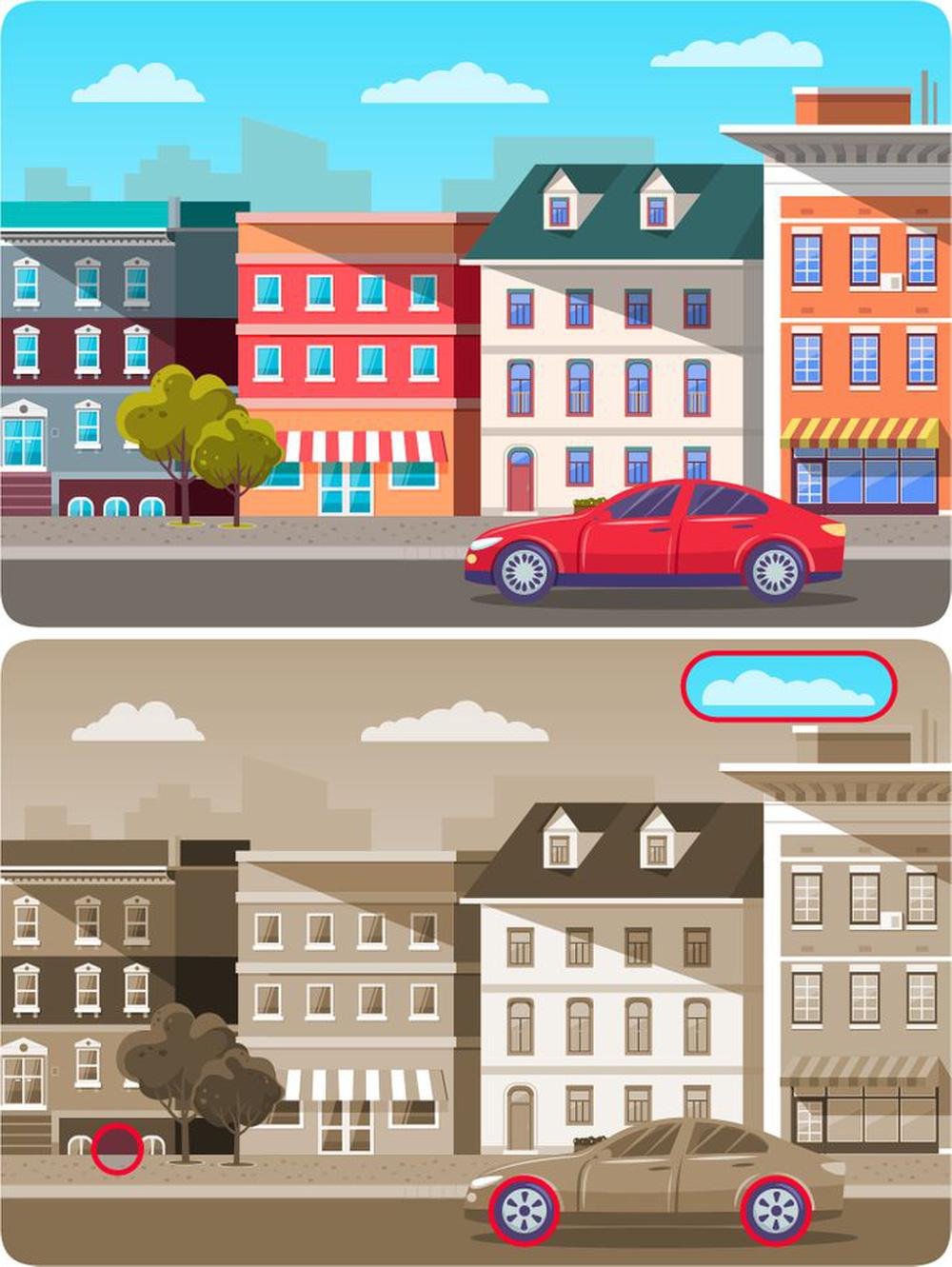 Thử tài mắt tinh như cú vọ: Trong 1 phút hãy tìm điểm khác biệt trong tranh - ảnh 2