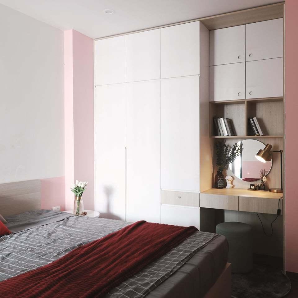 Căn hộ 58m2 phủ màu hồng ngọt ngào, góc nào cũng siêu yêu - ảnh 12