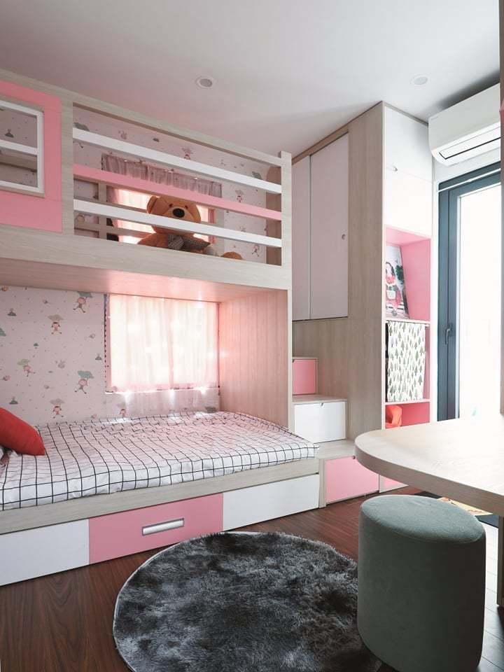 Căn hộ 58m2 phủ màu hồng ngọt ngào, góc nào cũng siêu yêu - ảnh 11