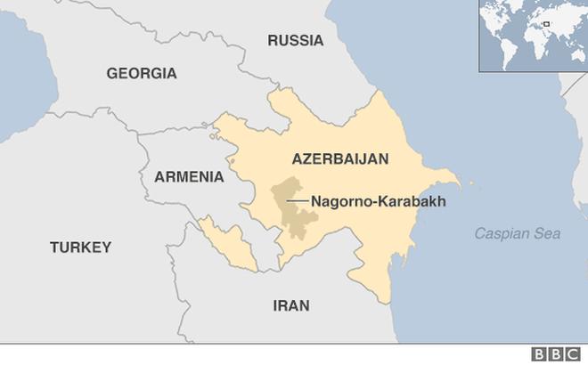 Azerbaijan tưởng niệm một năm vụ rocket bị nã vào khu dân cư - ảnh 2