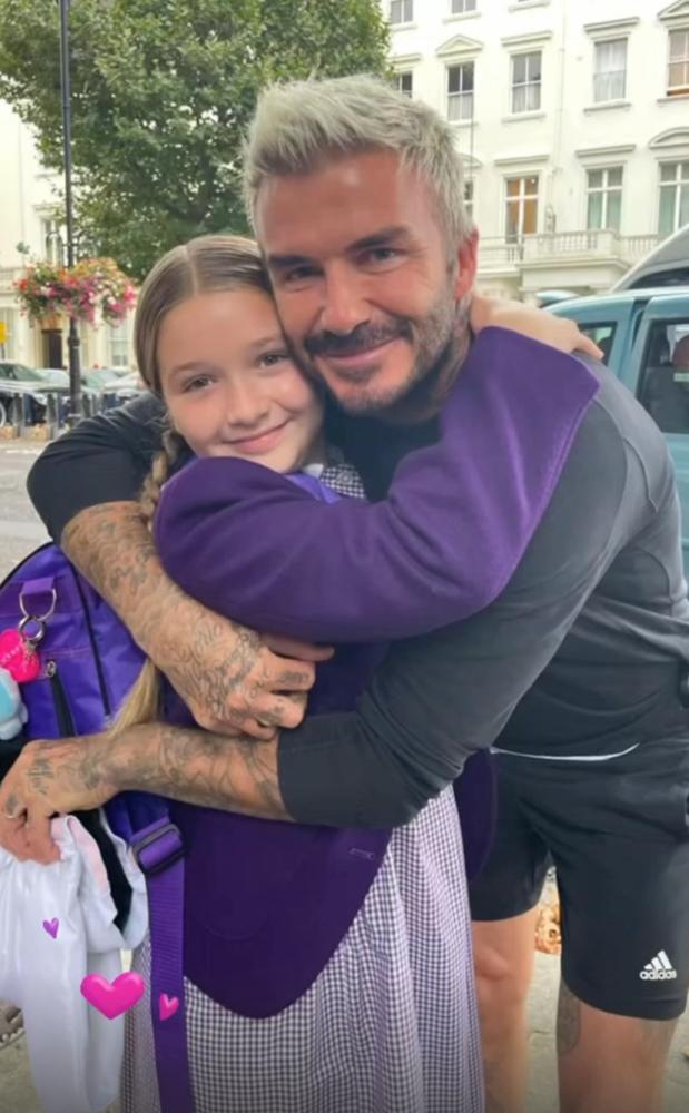 Nhìn hình ảnh này của Harper mới thấy con gái David Beckham phổng phao thế nào - ảnh 2