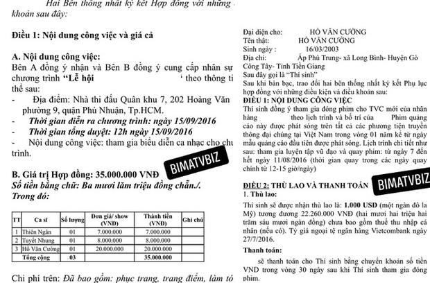 Theo bầu show nổi tiếng tiết lộ, cát-xê của Hồ Văn Cường là bao nhiêu? - ảnh 3