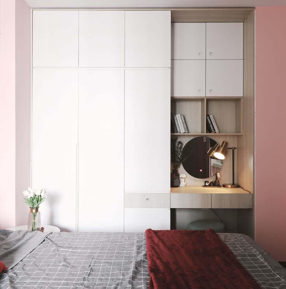 Căn hộ 58m2 phủ màu hồng ngọt ngào, góc nào cũng siêu yêu - ảnh 13