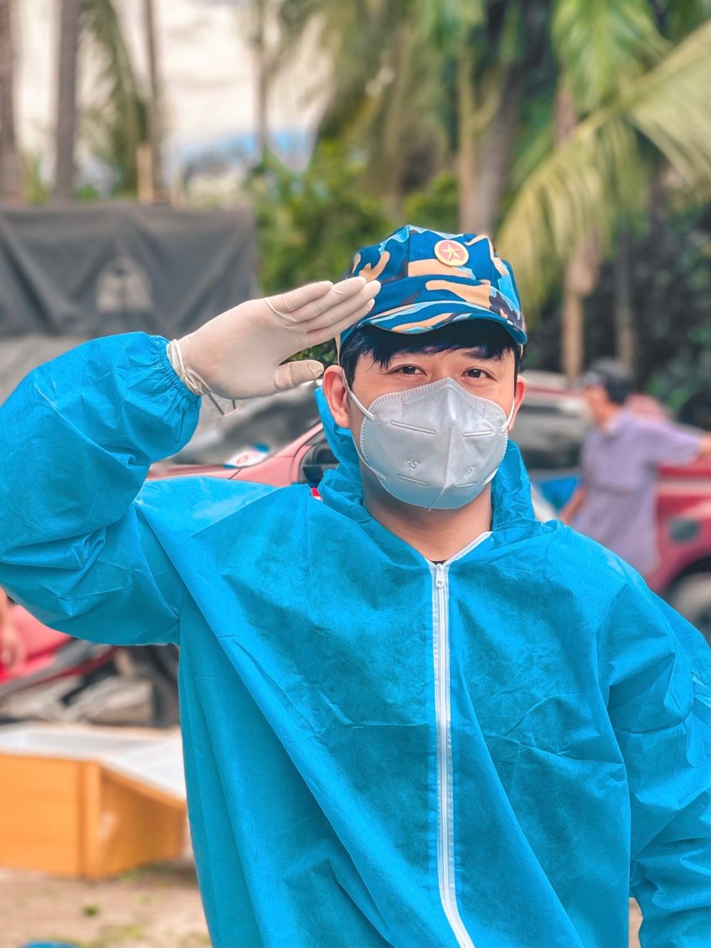 Nguyễn Văn Chung làm điều cực ý nghĩa để truyền năng lượng tích cực trong mùa dịch - ảnh 3